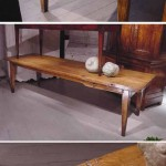 sold25 19c French farmhouse table in elm