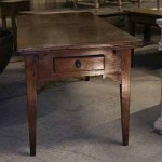 sold34 early 19c French fruitwood extending table