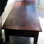 sold52 19c low table in walnut